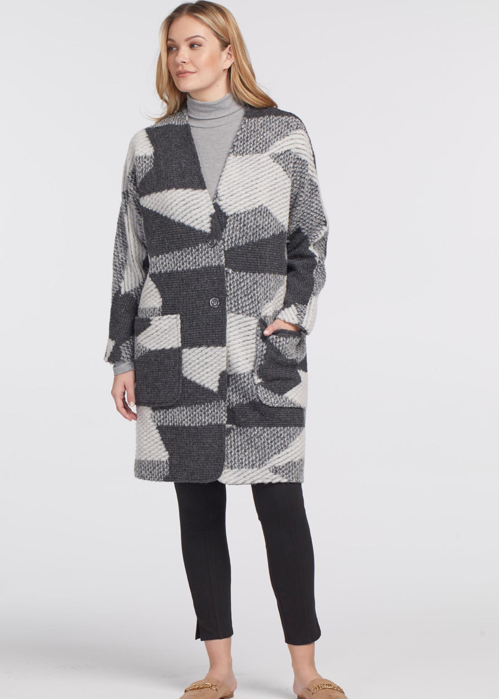 Tribal Long Dolman Sleeve Coat 47250