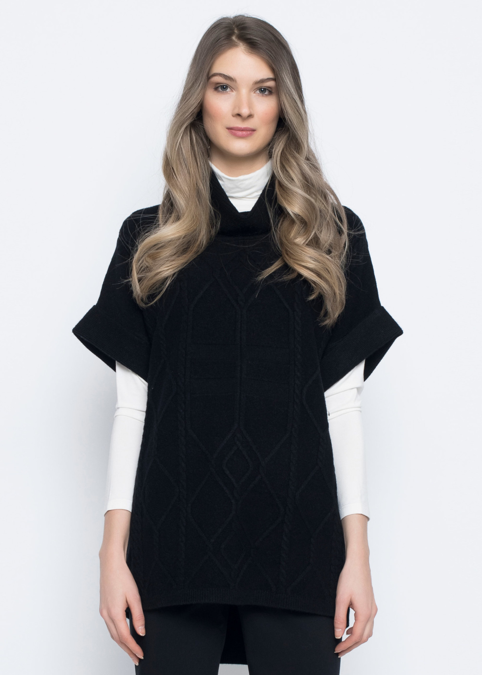 PICADILLY Loose Fit Cable Knit Sweater