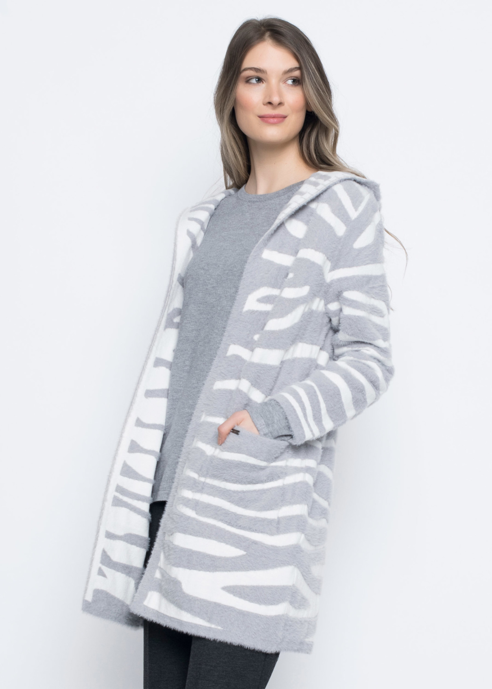 PICADILLY Animal Pattern Hooded Jacket RK529LF