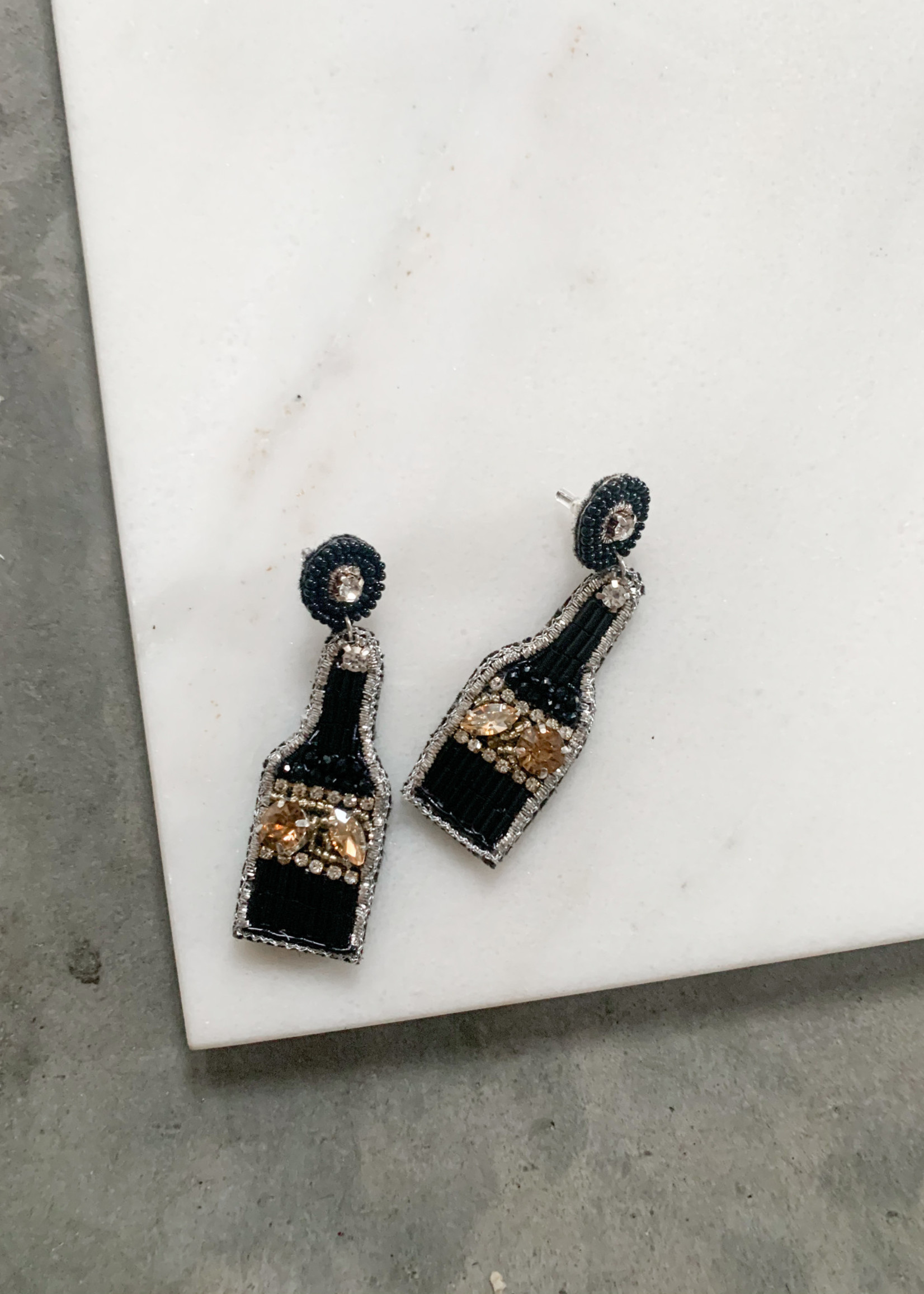 Elitaire Boutique Pop The Champagne Earrings