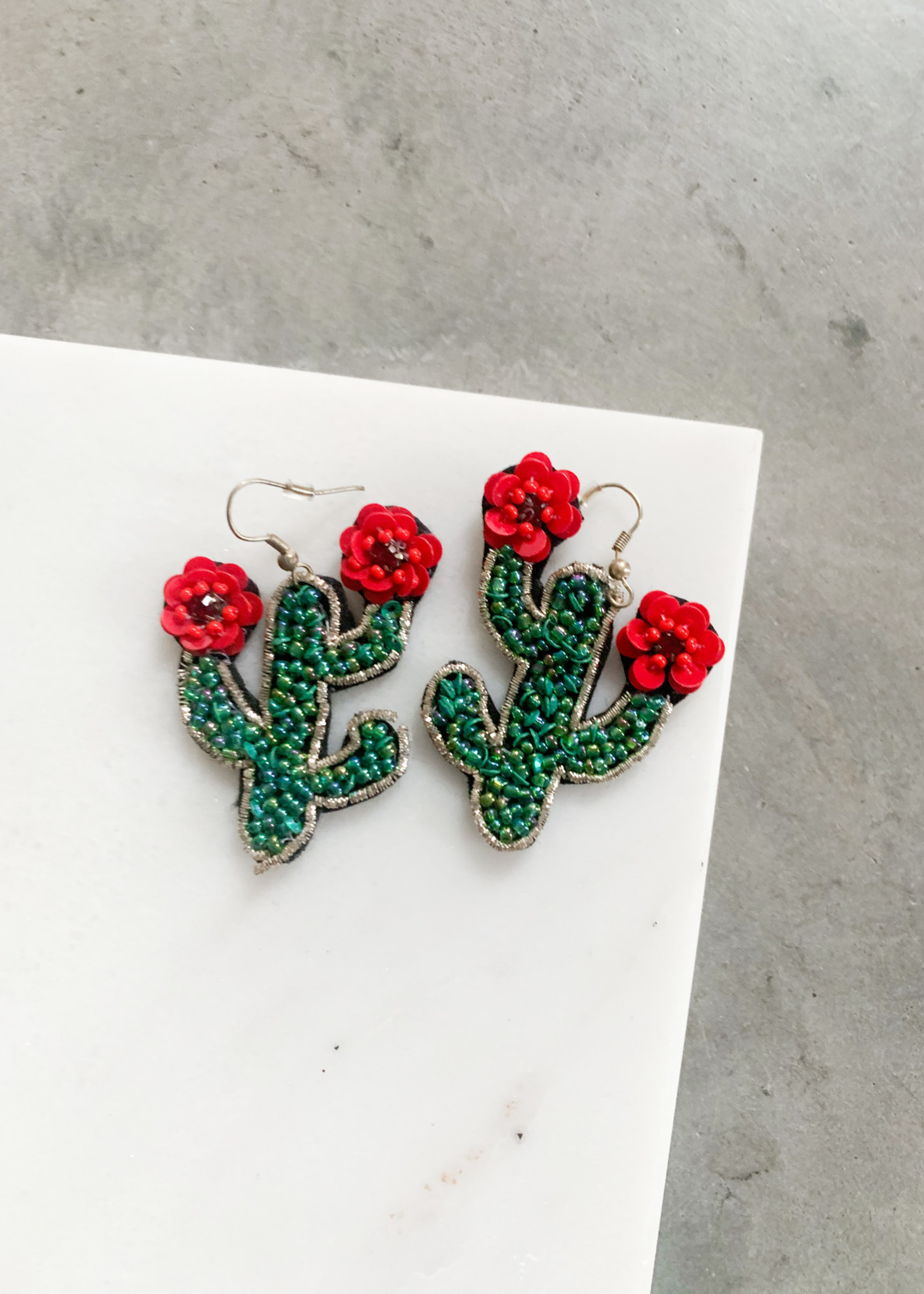 Elitaire Boutique Jardin de Cactus Earrings