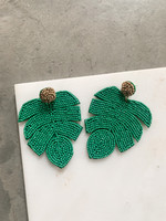 Elitaire Boutique Cabana Palm Tree Earrings