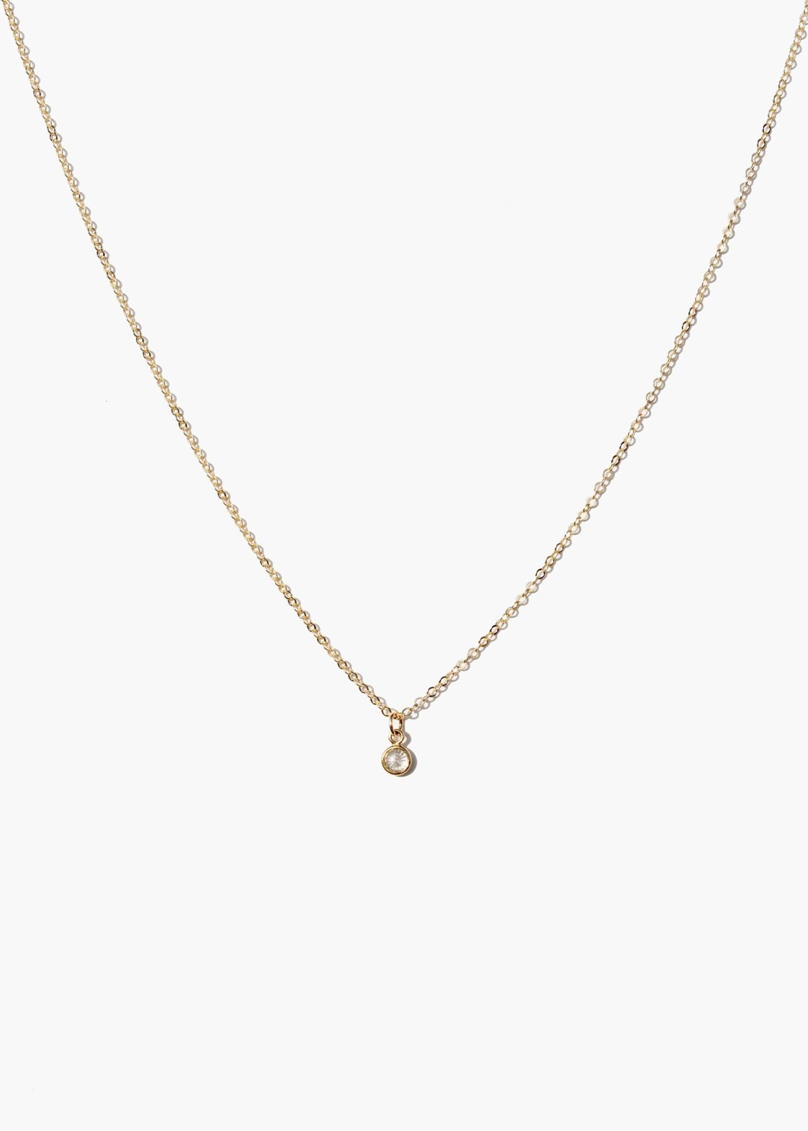 Elitaire Boutique Stella Drop Necklace