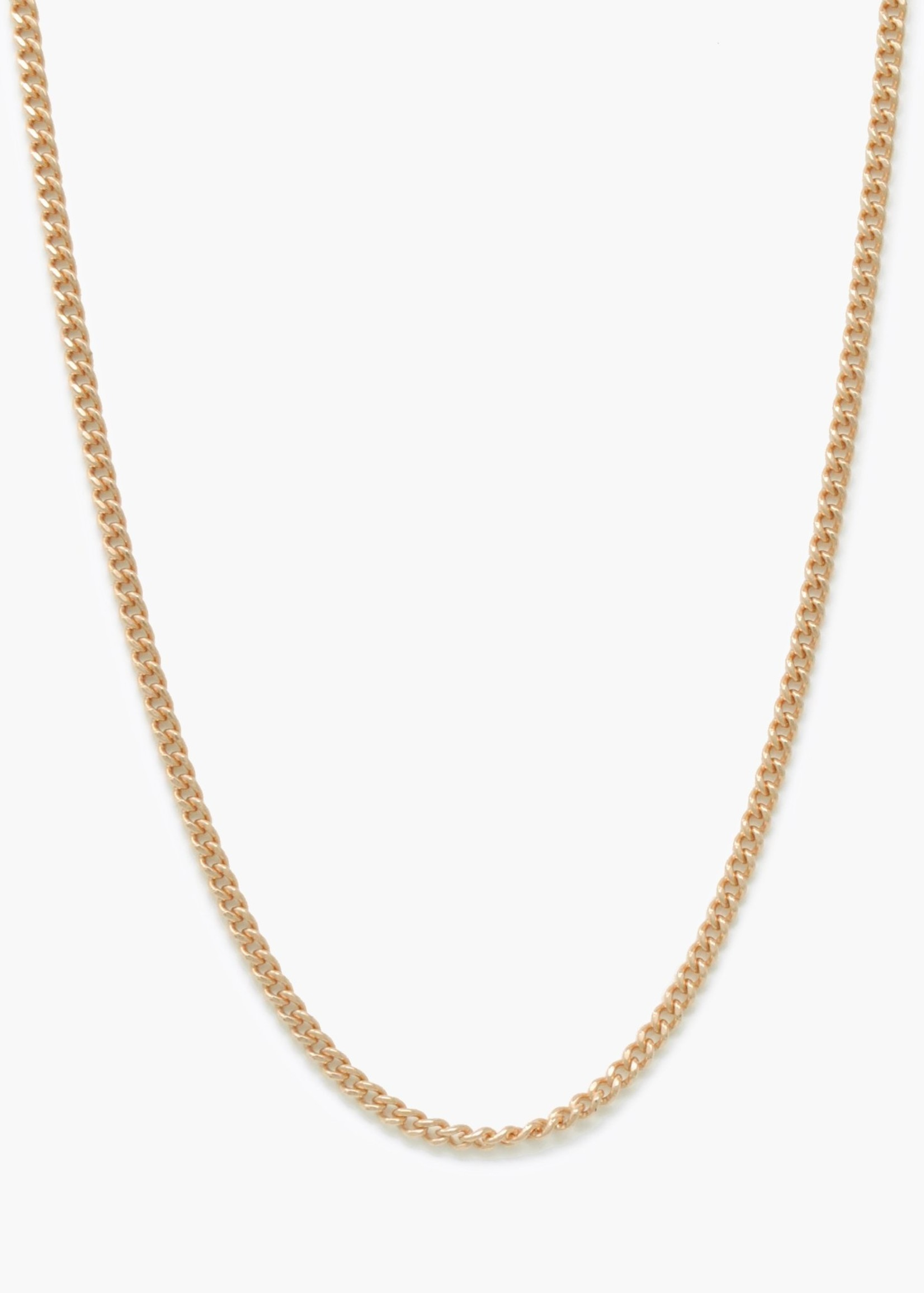 Elitaire Boutique Curb Chain Necklace