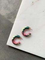 Elitaire Boutique Winter Spritz Mini Hoop