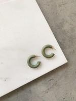 Elitaire Boutique Olive Mini Hoop