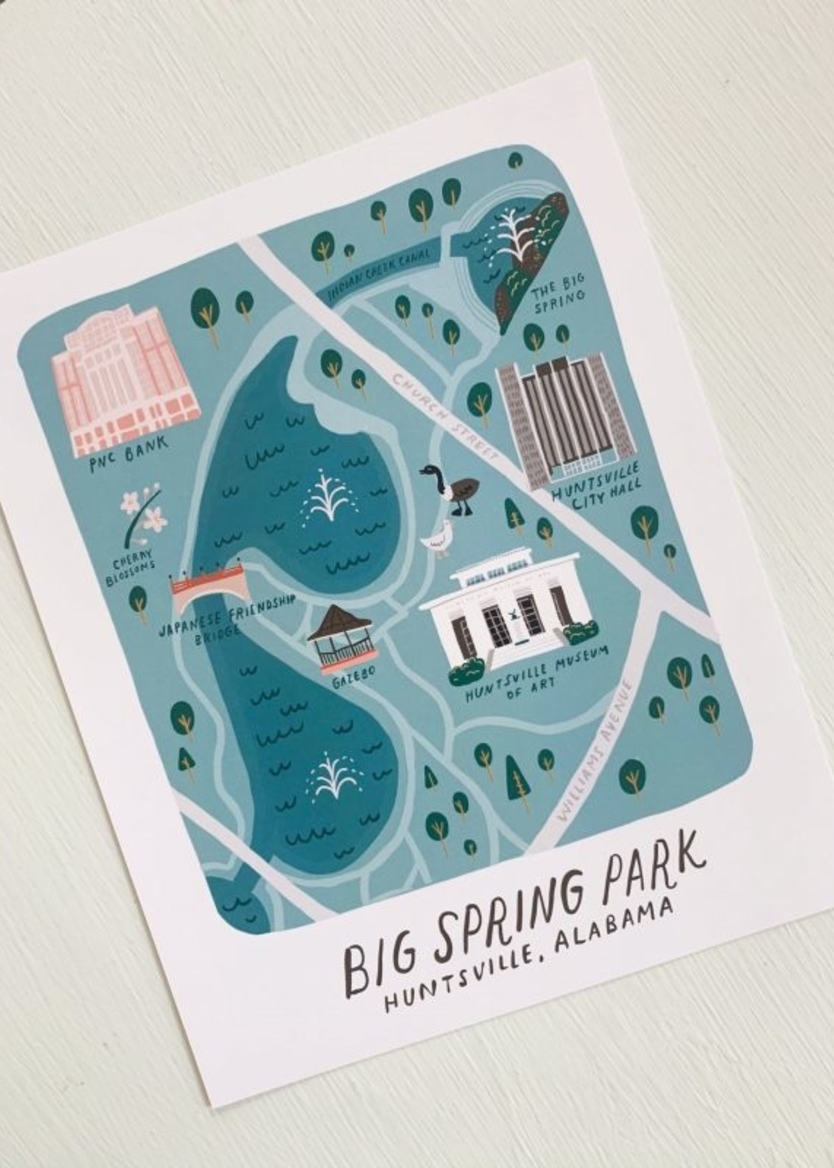 Elitaire Boutique Big Spring Park Print 8x10