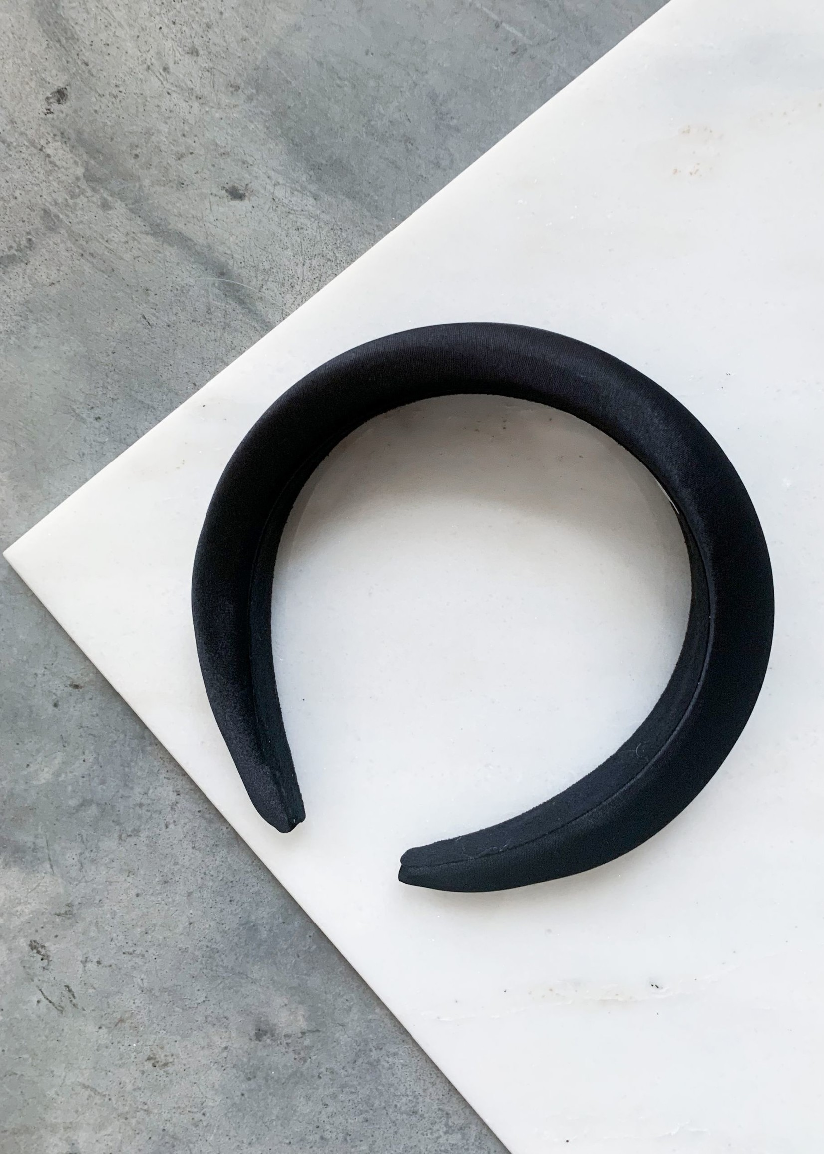 Elitaire Boutique Satin Padded Headband