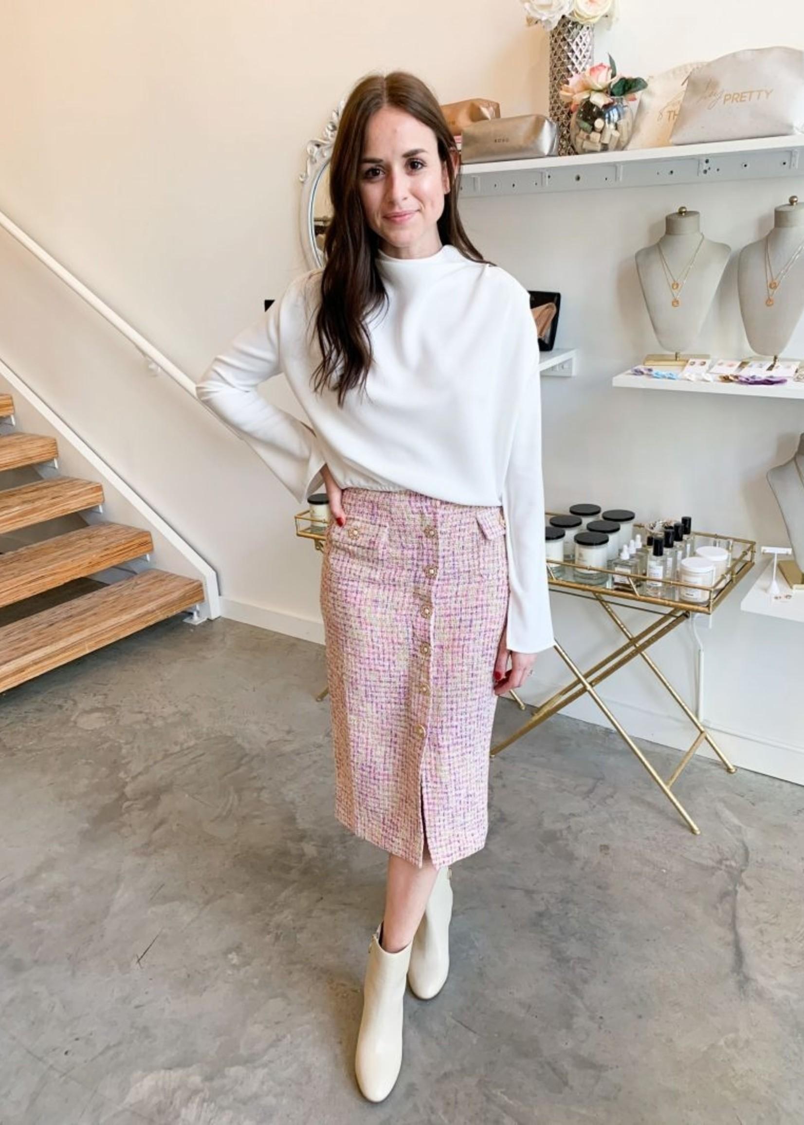 Elitaire Boutique Milos Boucle Skirt