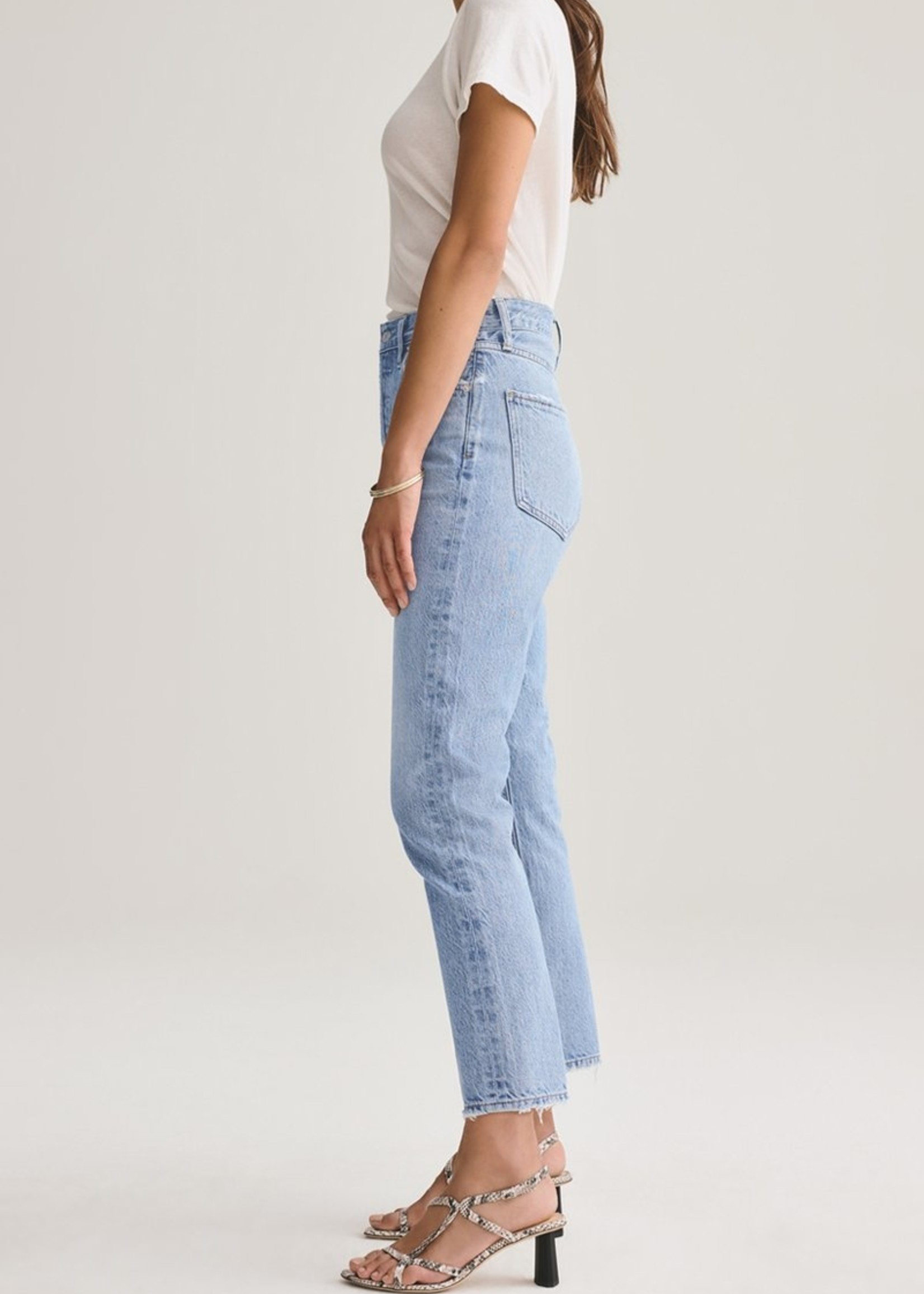 Elitaire Boutique Riley High Rise Straight Crop