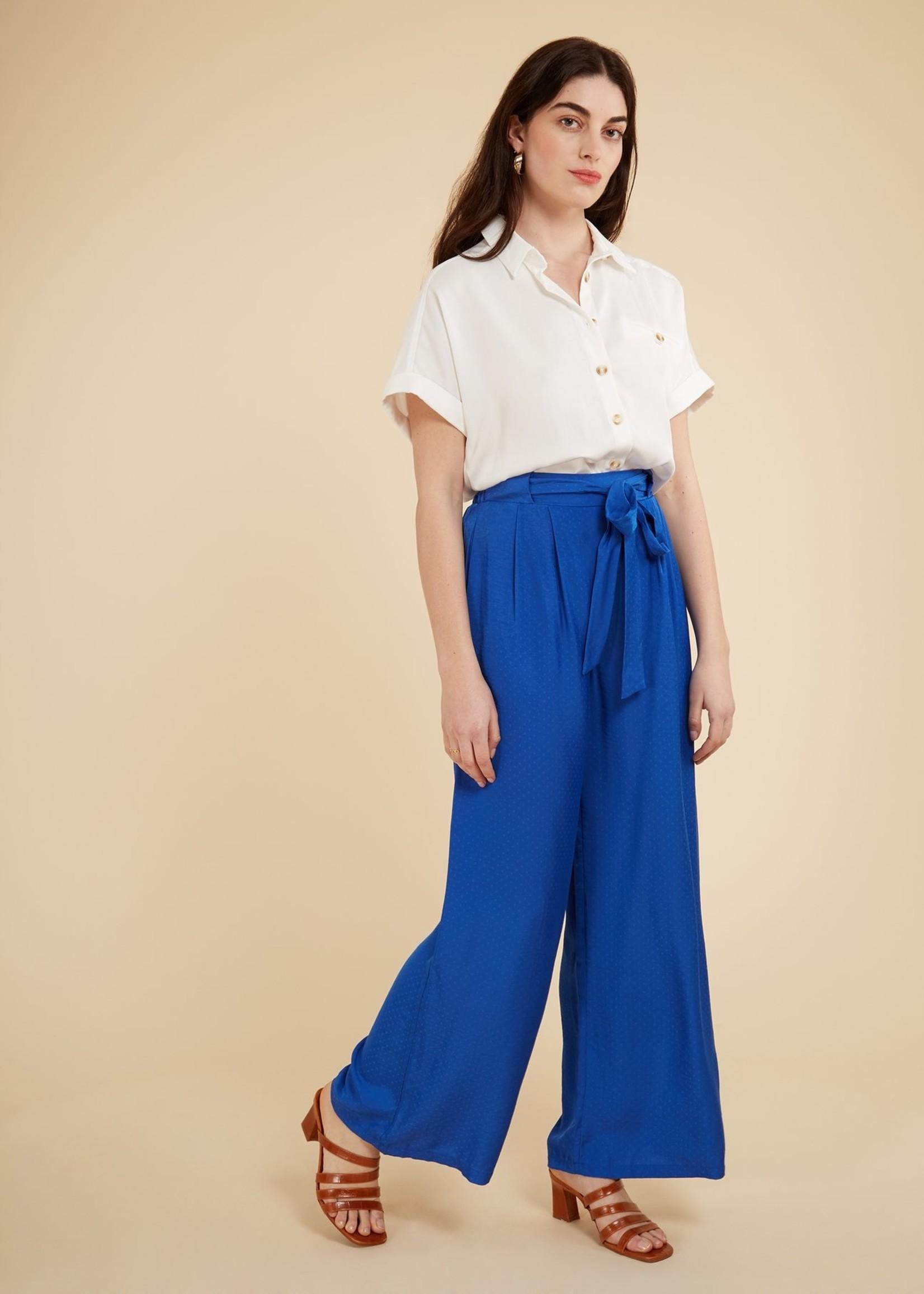 Elitaire Boutique Celestial Electric Blue Pants