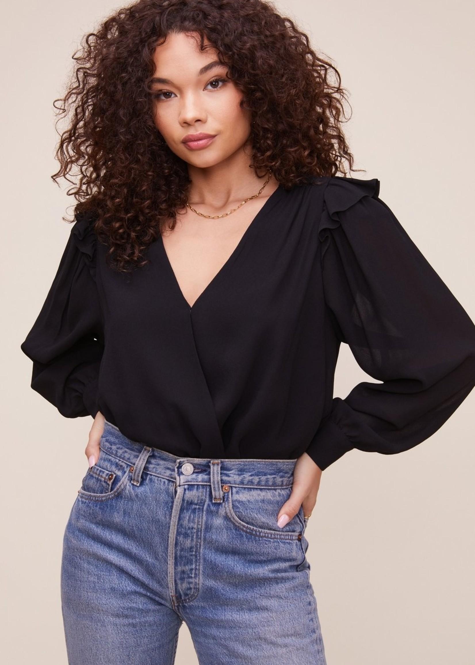 Elitaire Boutique Matilda Black Bodysuit