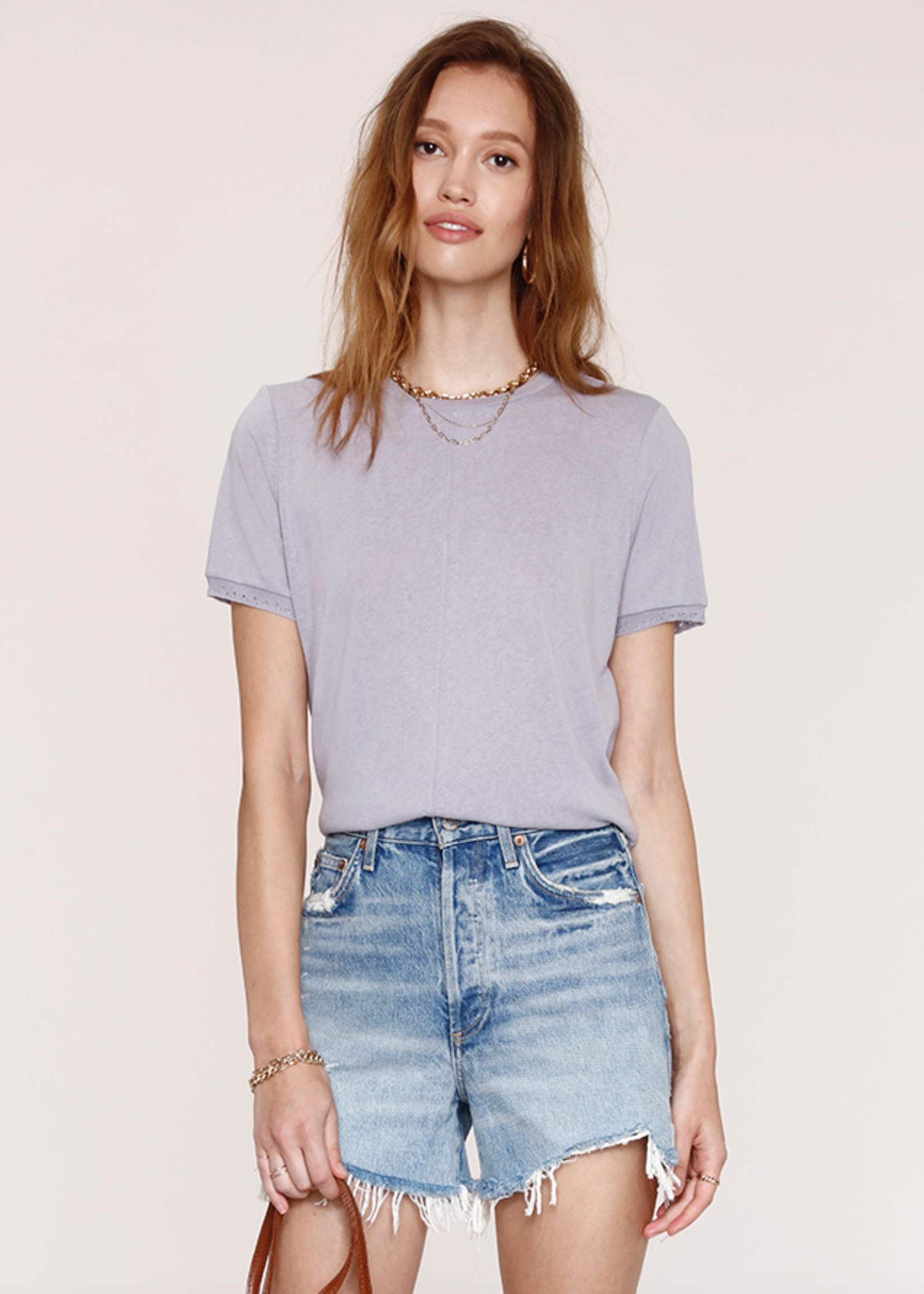 Elitaire Boutique Kaia Tee in Haze