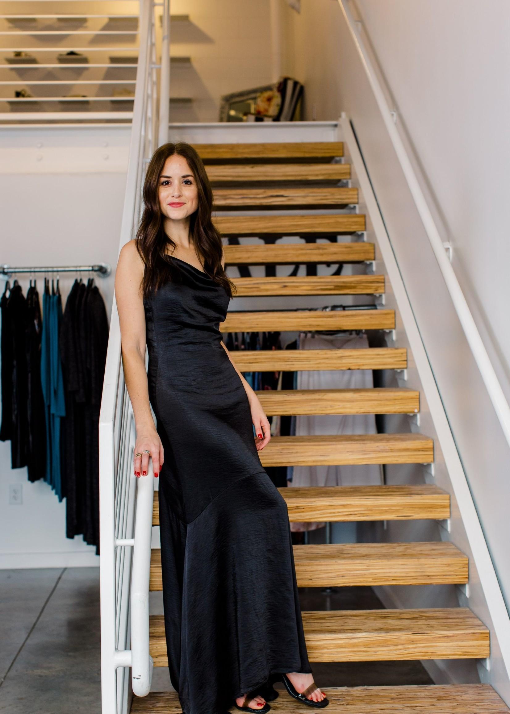 Elitaire Boutique Felecia Black Dress