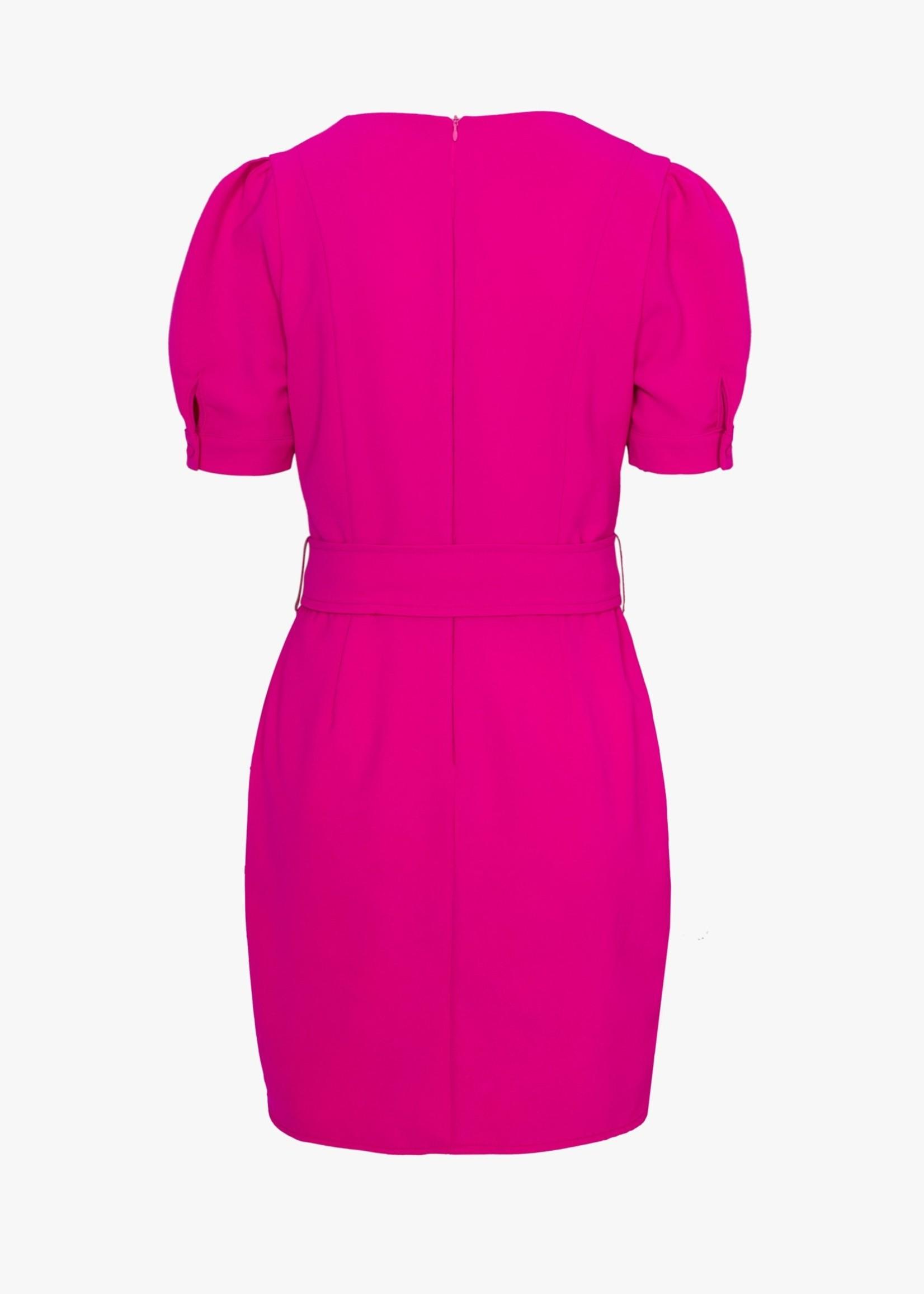 Elitaire Boutique Terry Fuchsia Dress