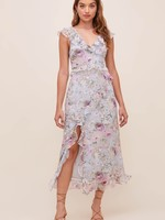 Elitaire Boutique Tempest Lilac Floral Dress