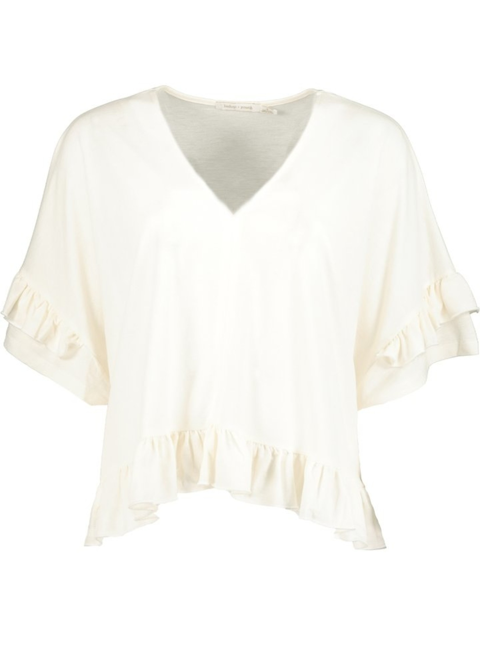 Elitaire Boutique Ruffle Tee