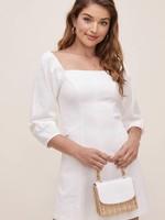 Elitaire Boutique Rabia White Dress