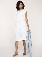Elitaire Boutique Rubie White Midi Dress