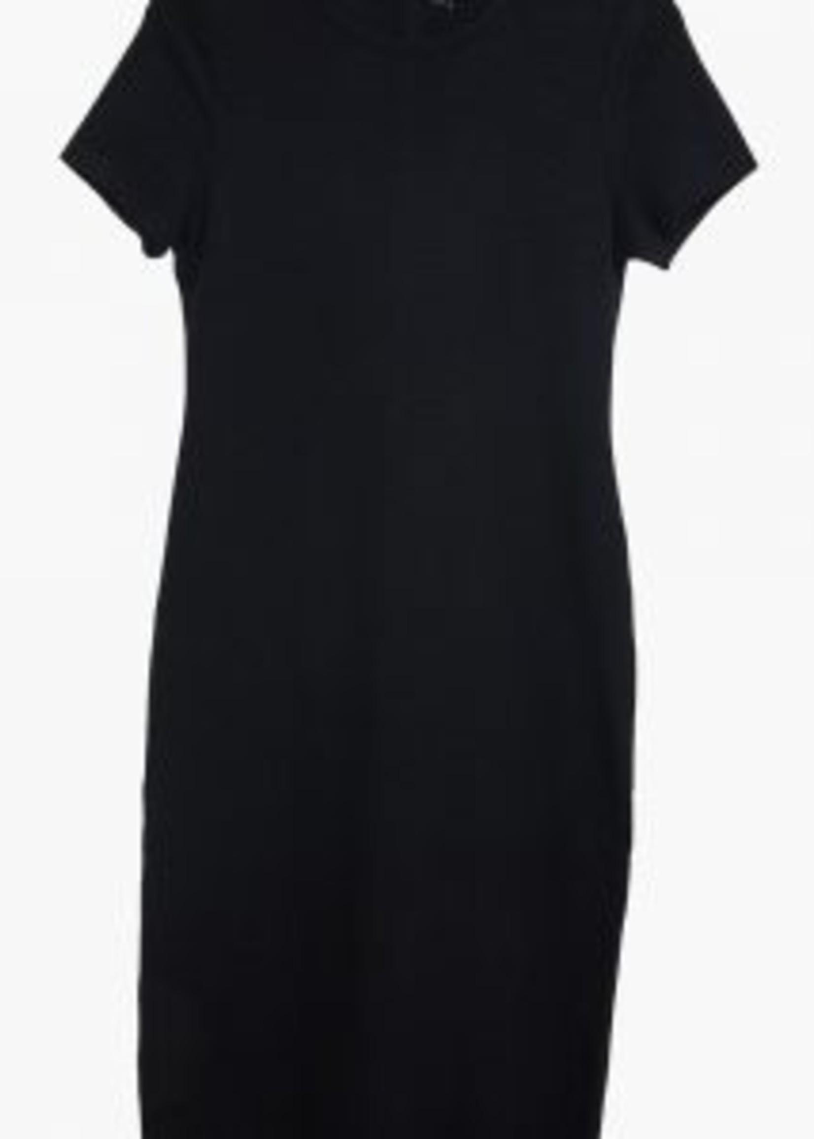 Elitaire Boutique Patti Midi Dress in Black