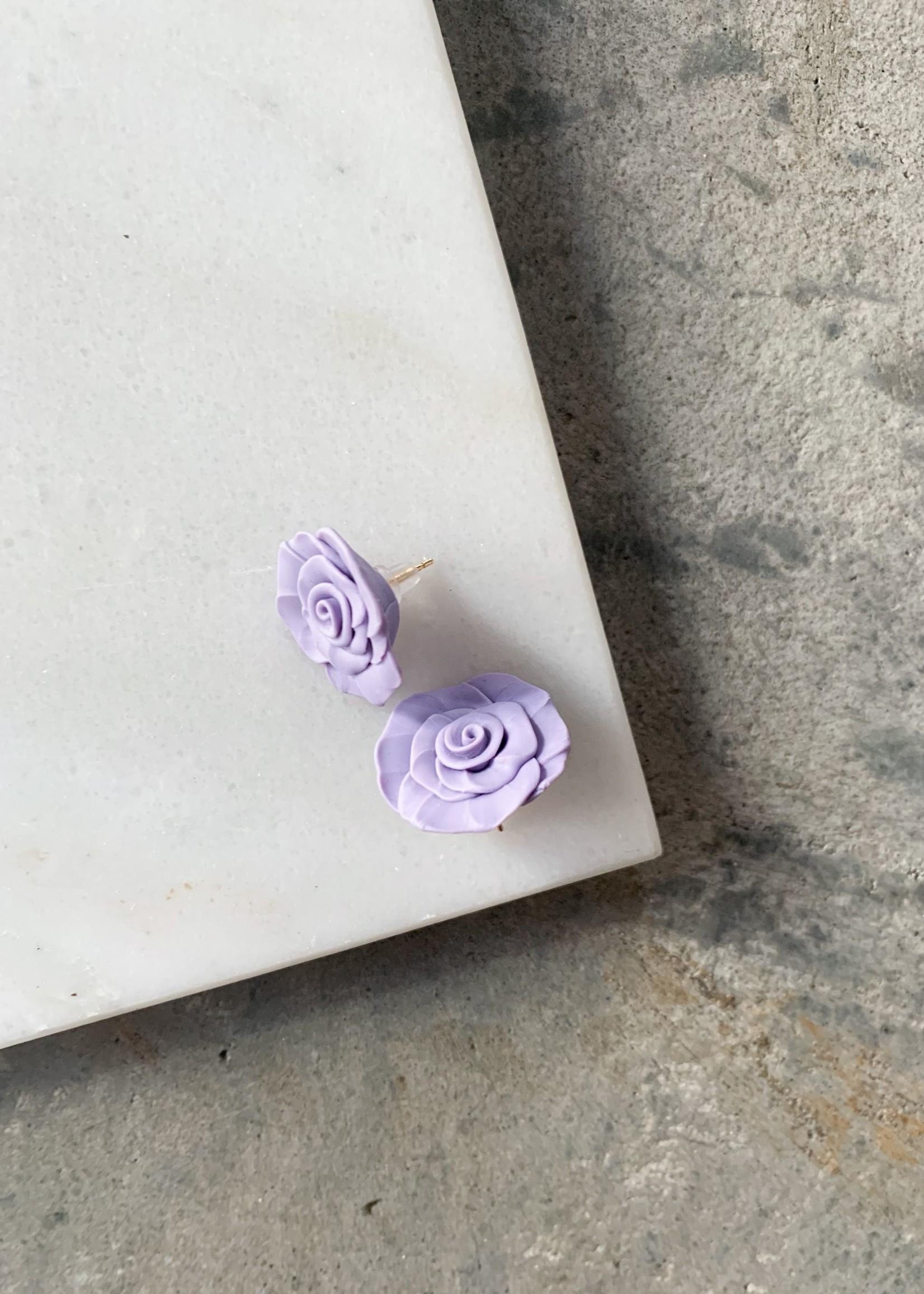 Elitaire Boutique Rose Studs