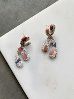 Elitaire Boutique Fawn Clay Earrings