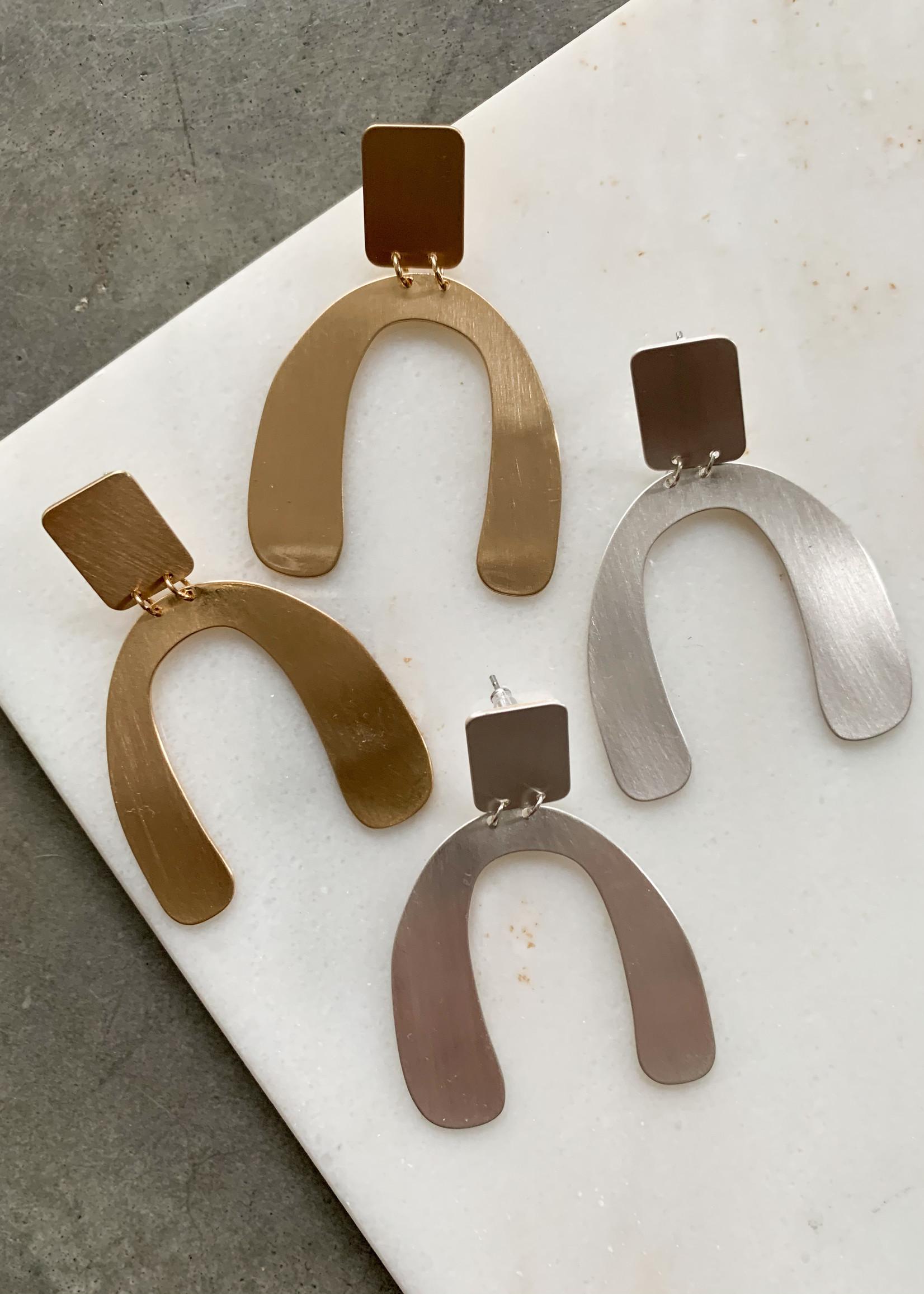Elitaire Boutique Geometric Shape Earrings