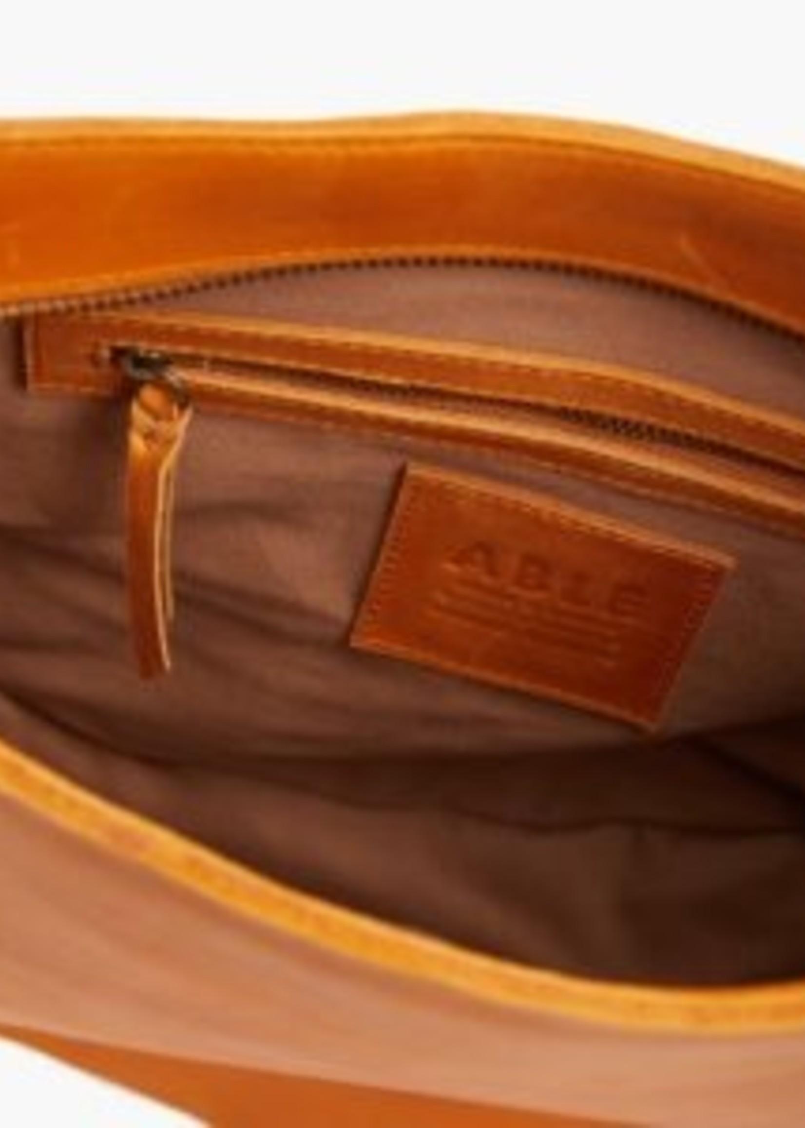 Elitaire Boutique Naomi Cognac Shoulder Bag