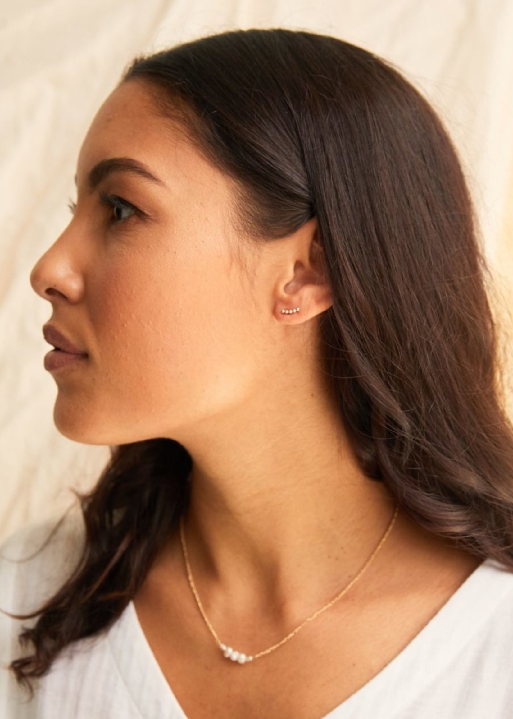Elitaire Boutique Ceaser Stud Earring