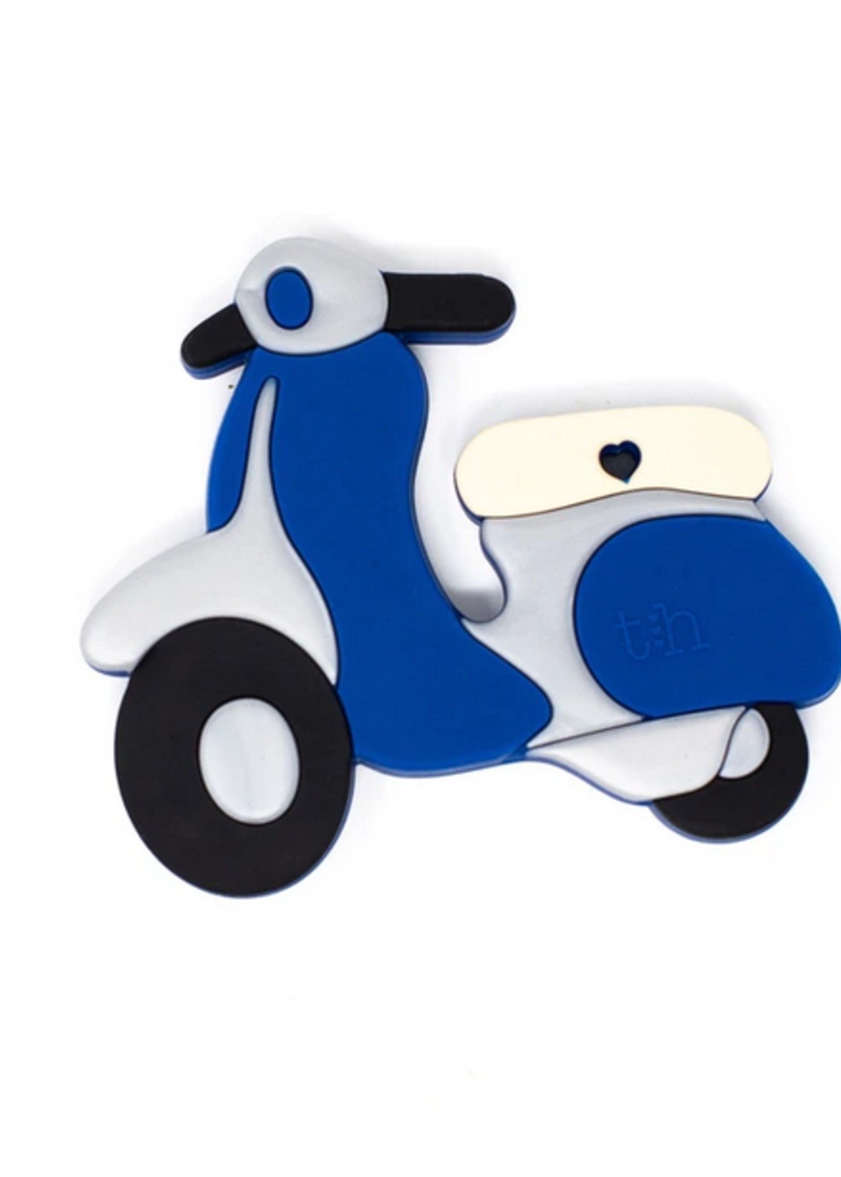 Elitaire Petite Scooter Silicone Teether