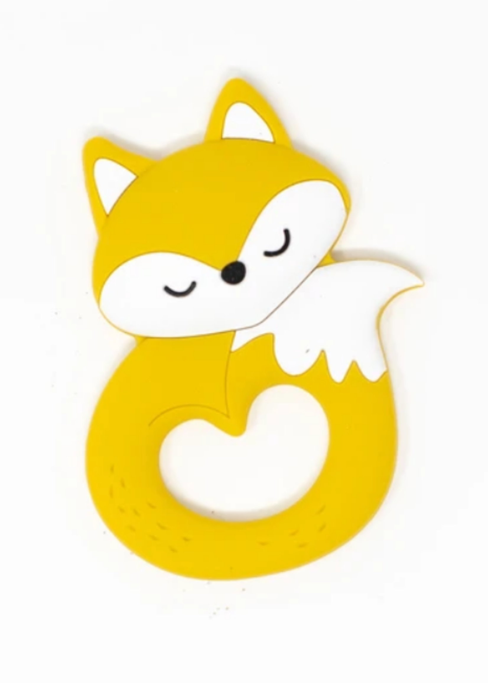 Elitaire Petite Woodland Fox Silicone Teether