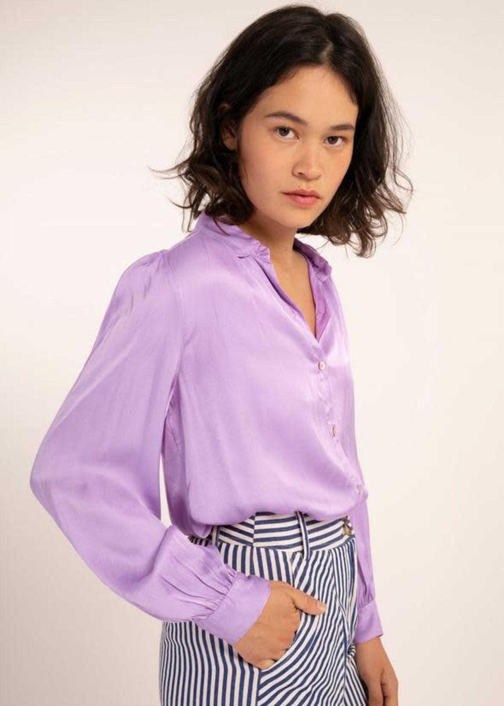 Elitaire Boutique Cinderaria Lilac Blouse