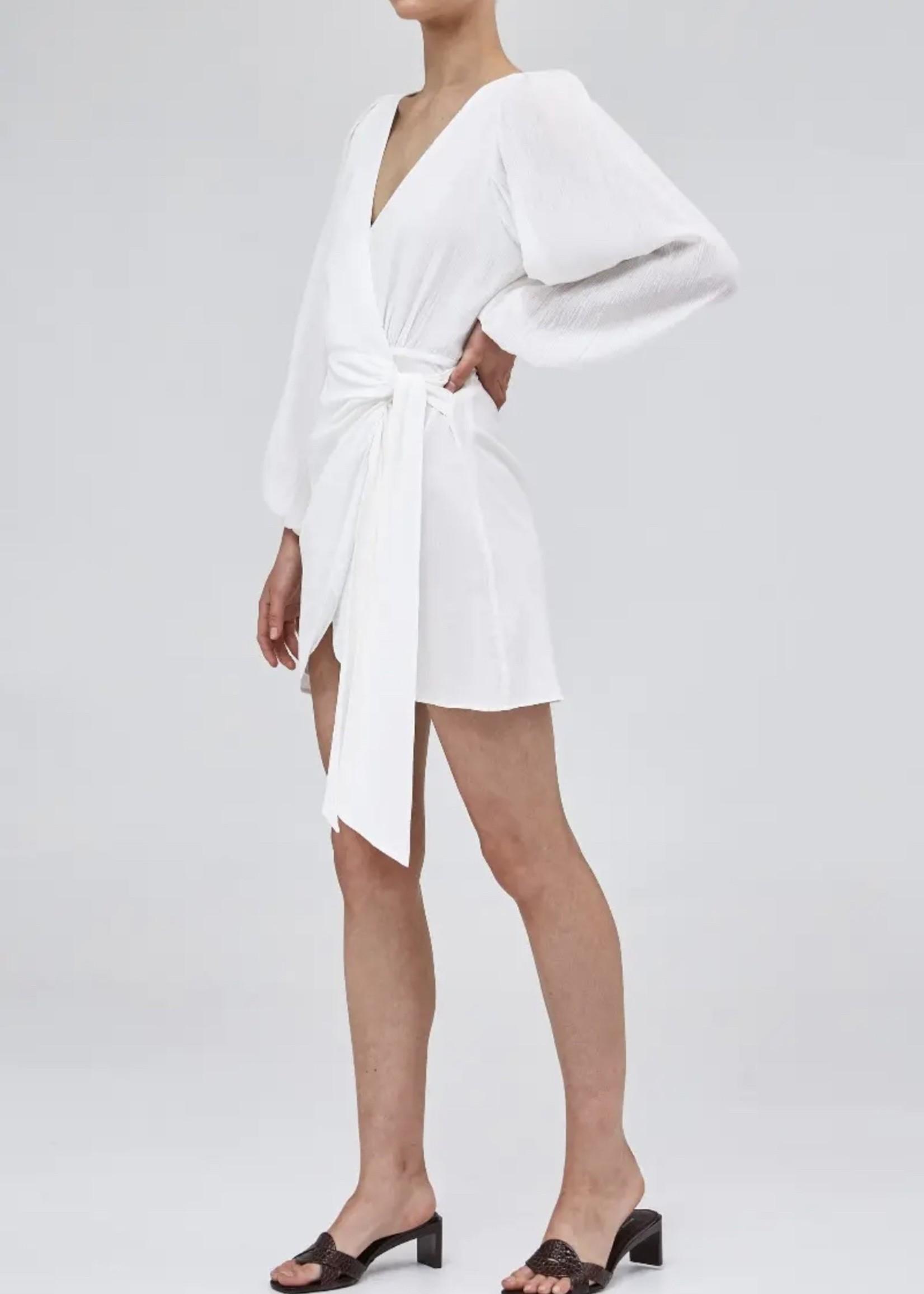 Elitaire Boutique Plume Ivory Dress
