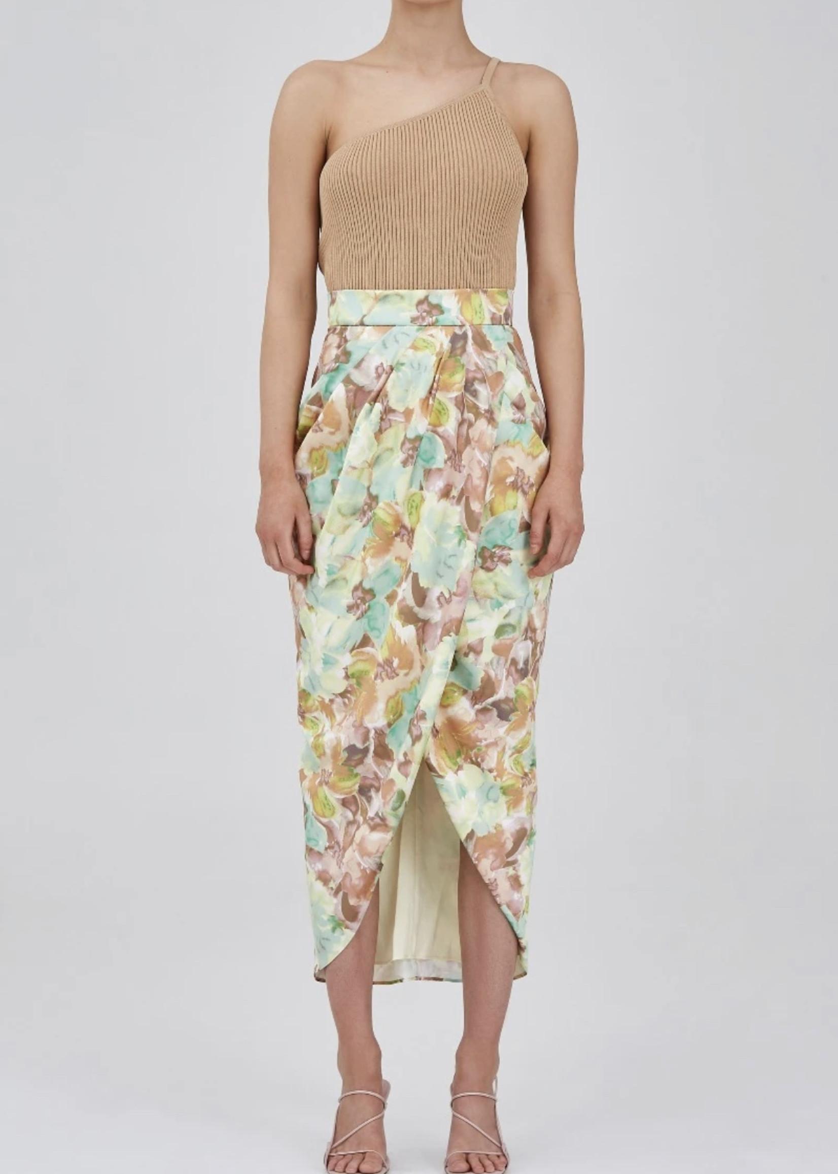 Elitaire Boutique Last Dance Tan Knit Top