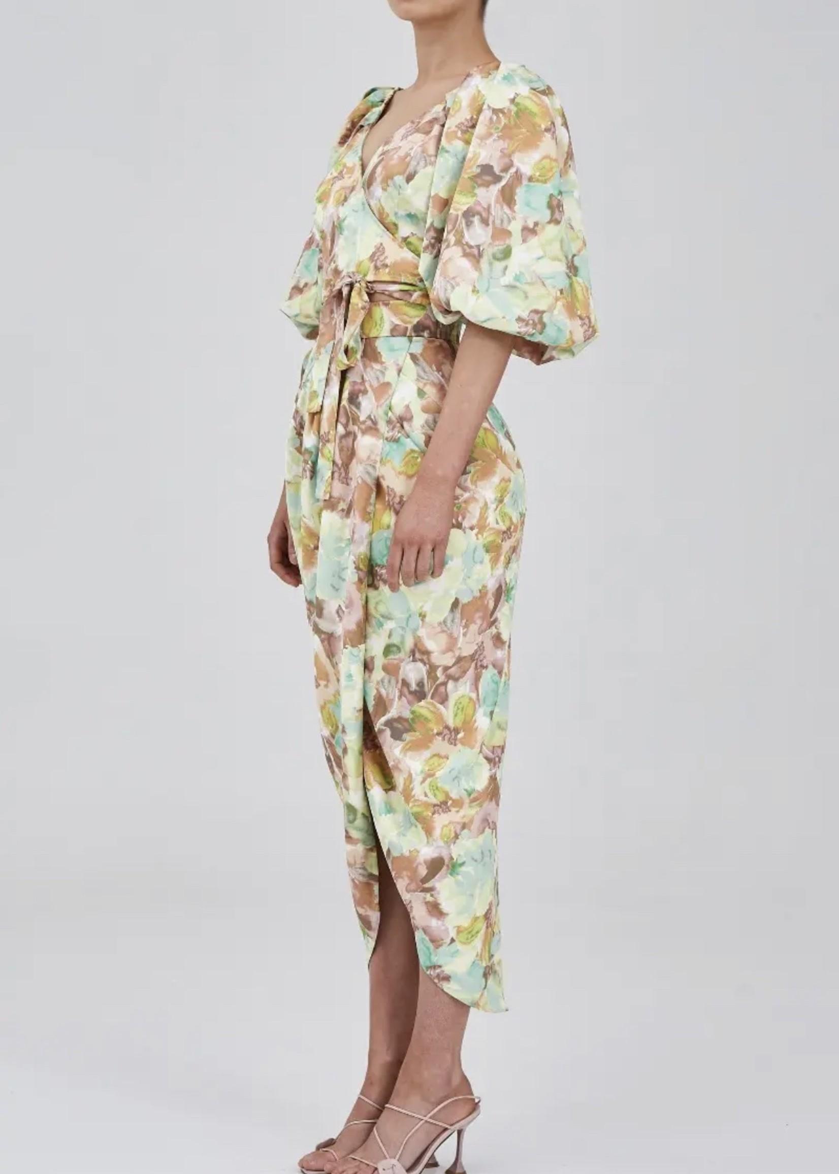 Elitaire Boutique Resolve Watercolor Skirt
