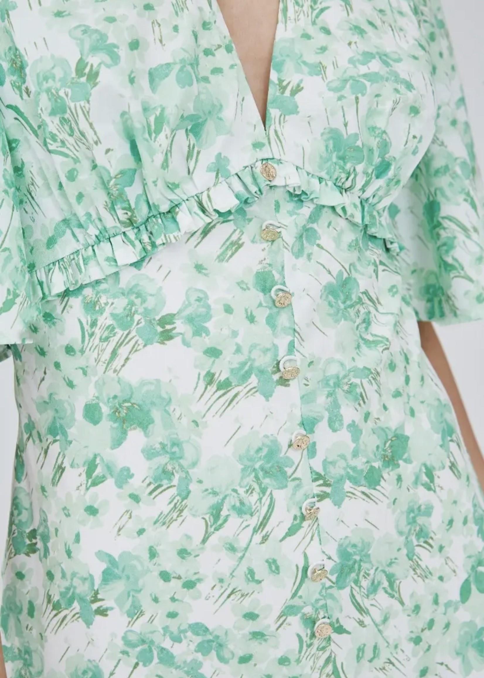 Elitaire Boutique Blaze Midi Dress