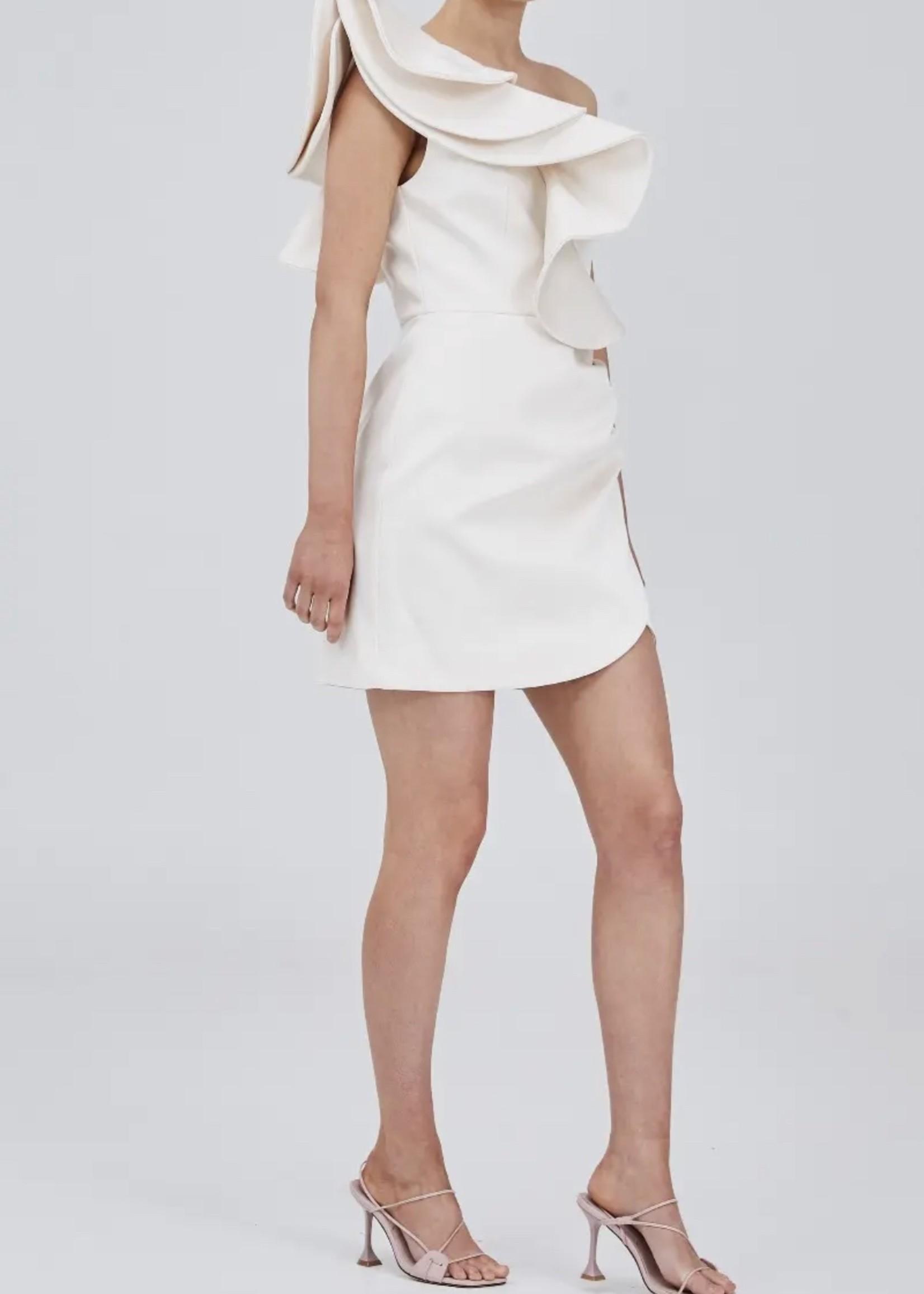 Elitaire Boutique Resolve Creme Dress