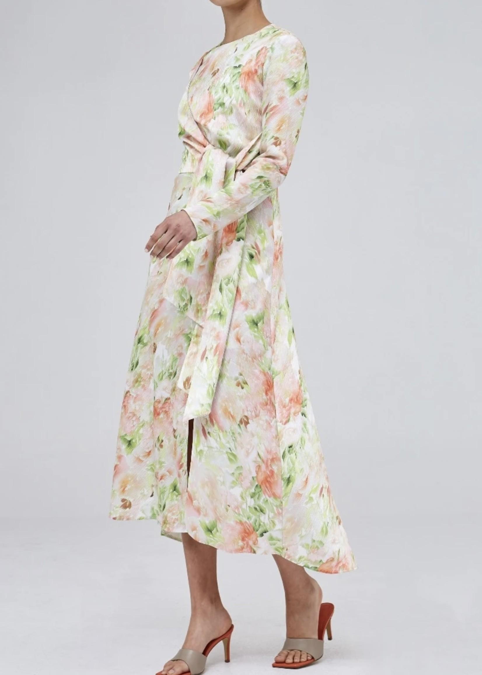 Elitaire Boutique Opposite Sides Floral Dress