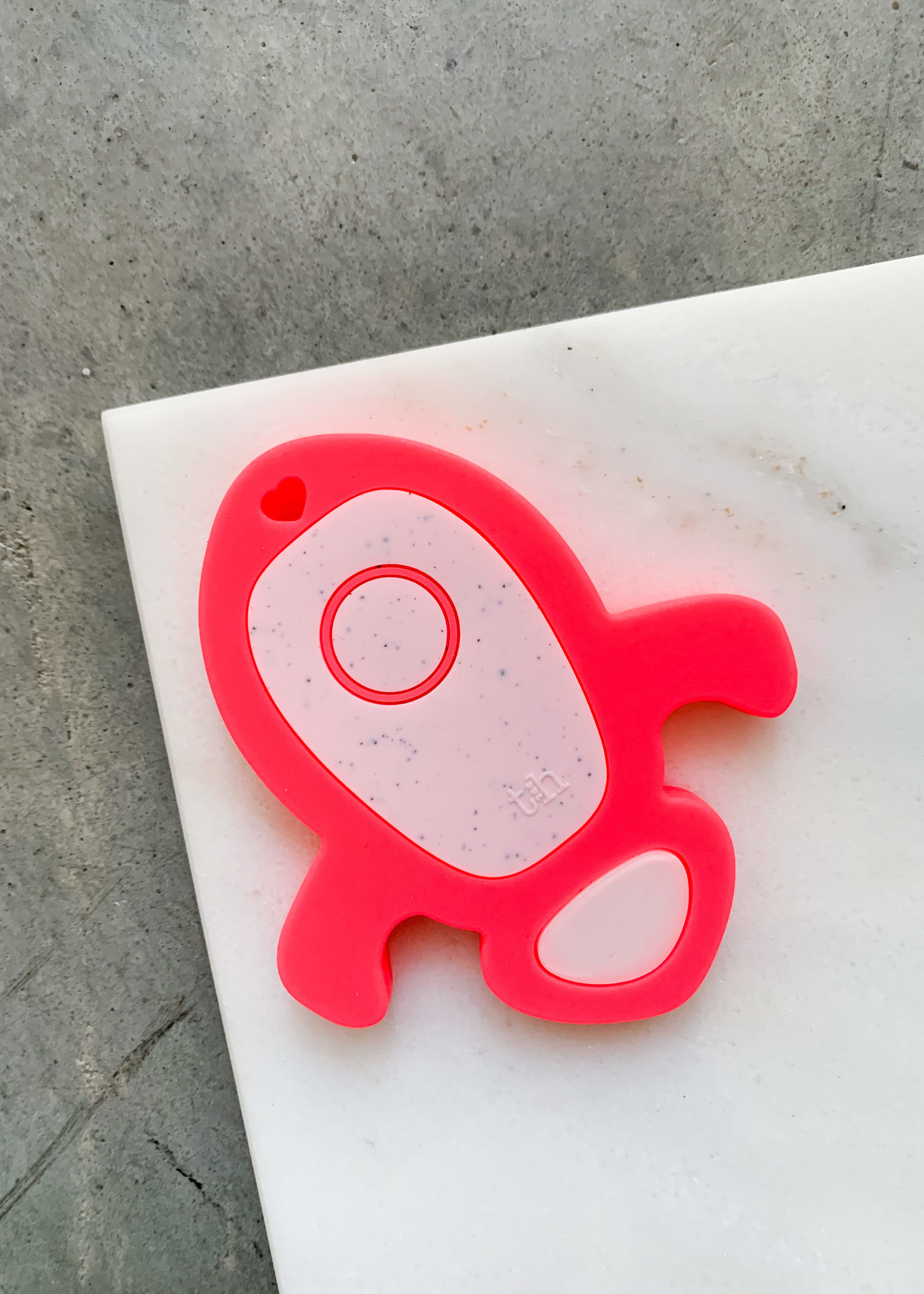 Elitaire Petite Rocket Ship Silicone Teether