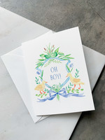 Elitaire Petite Little Duckling Baby Card