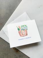 Elitaire Boutique Nantucket Hydrangea Thank You Card