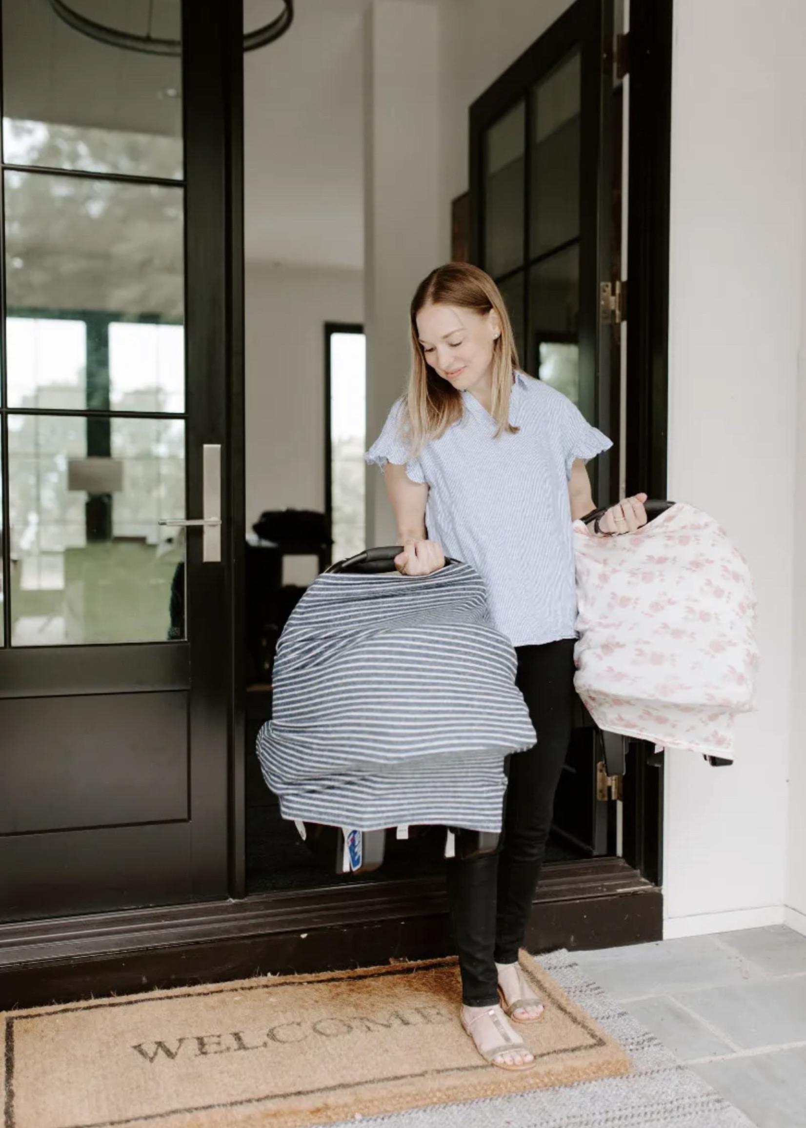 Elitaire Petite Heather Grey Snuggle Knit Multi Use Cover
