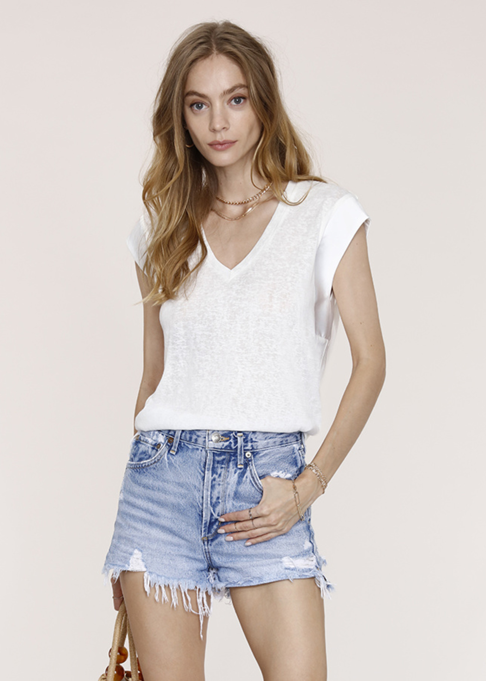 Elitaire Boutique Aurora White Tee