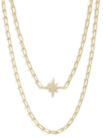 Elitaire Boutique Starburst Layered Necklace