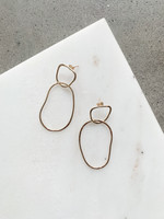 Elitaire Boutique Organic Drop Earring