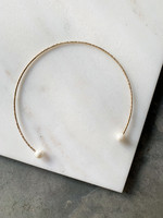 Elitaire Boutique Pearl Collar Necklace
