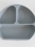 Elitaire Petite Sky Silicone Suction Plate with Lid + Spoon