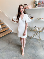 Elitaire Boutique Nikita Dress in White