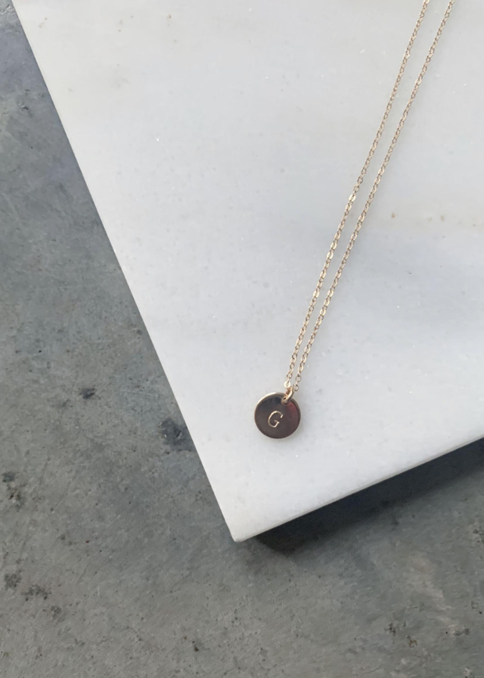 Elitaire Boutique Mini Tag Necklace