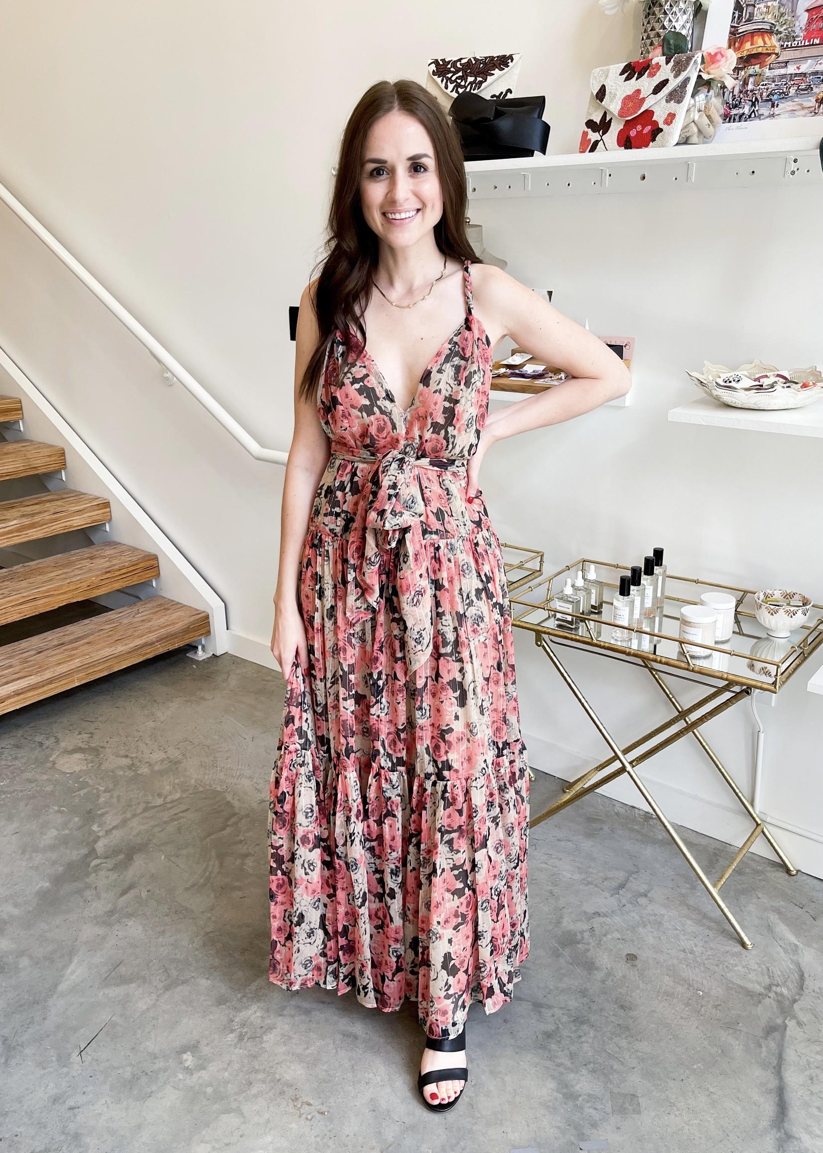 Elitaire Boutique Eartha Floral Dress